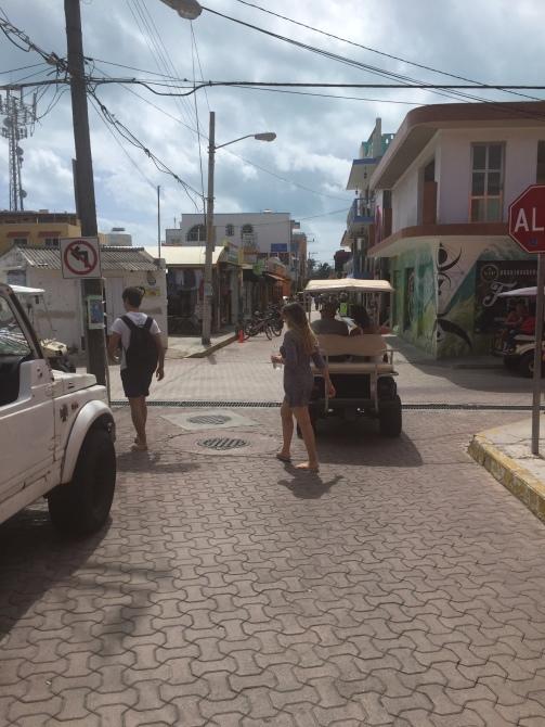 El Centro in Isla Mujeres