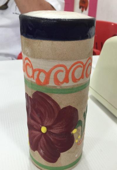Ice Cold Cerveza in a Handmade Mug