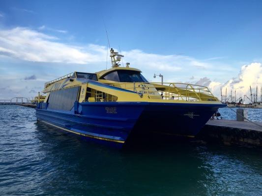 Ultramar Ferry to Isla Mujeres