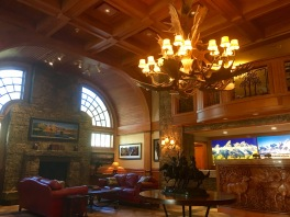 Lobby at the Wyoming Inn