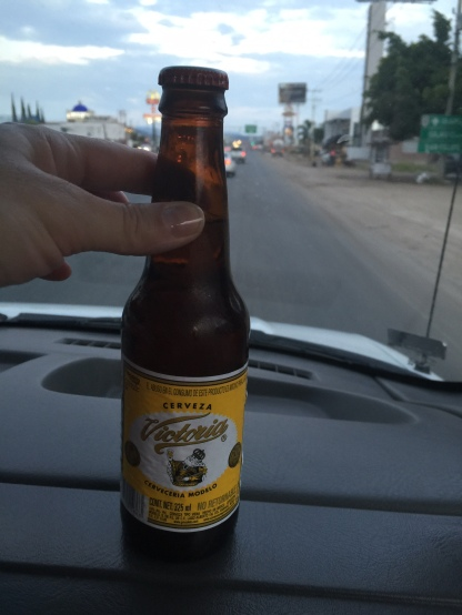 Victoria Cerveza for the drive to San Miguel