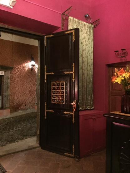 Front door of Casa Schuck